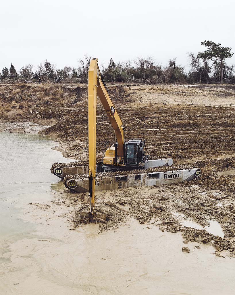 Dredged material placement sites